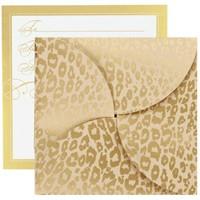 Gift Card Folders - Golden Cheetah