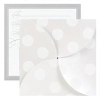Gift Card Folders - Pearl Dot