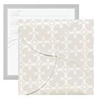 Gift Card Folders - Quatrefoil
