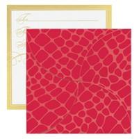 Gift Card Folders - Red Croc