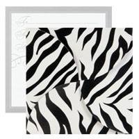 Gift Card Folders - Zebra Stripes