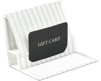 Pop-Up Gift Card Folders - Pearl Stripe