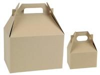 Gable Boxes - Natural Kraft