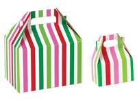 Gable Boxes - Santa Stripe