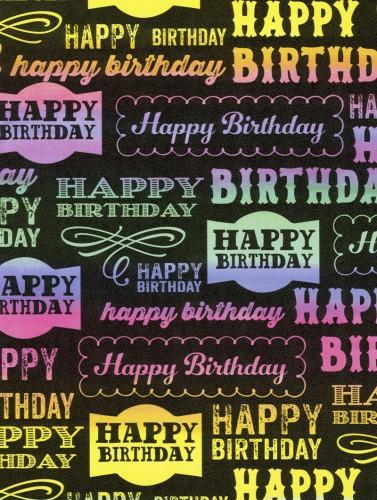 Rainboard Birthday