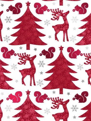 Red Deer & Trees