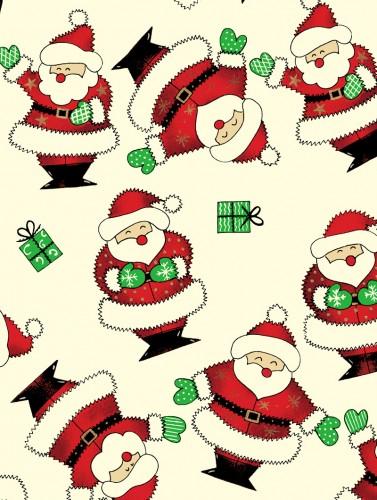 Santa On Cream