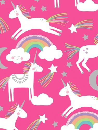 Unicorns On Pink