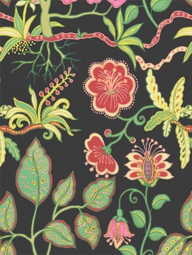 Silk Botanical Fantasy