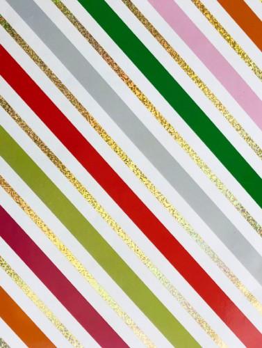 Glitter Stripe