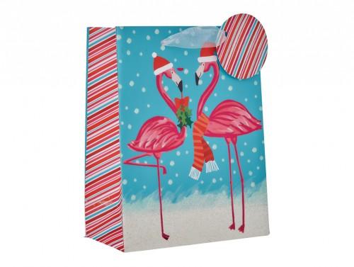 Christmas Gift Bags Bulk.Flamingo Mr Gift Wrap
