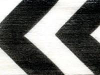 Cotton Curling - Black Chevron