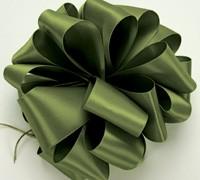 Double Face Satin - Leaf