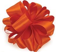 Double Face Satin - Torrid Orange