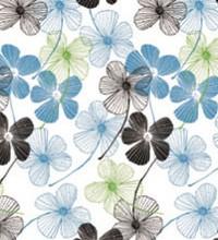 Botanical Tissue - Floral Lines
