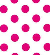 Everyday Tissue - Hot Pink Polka Dot