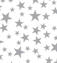 Precious Metals Tissue - Silver Stars