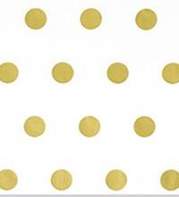 Satinique Tissue - Gold Hot Spots