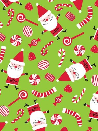 Peppermint Santa
